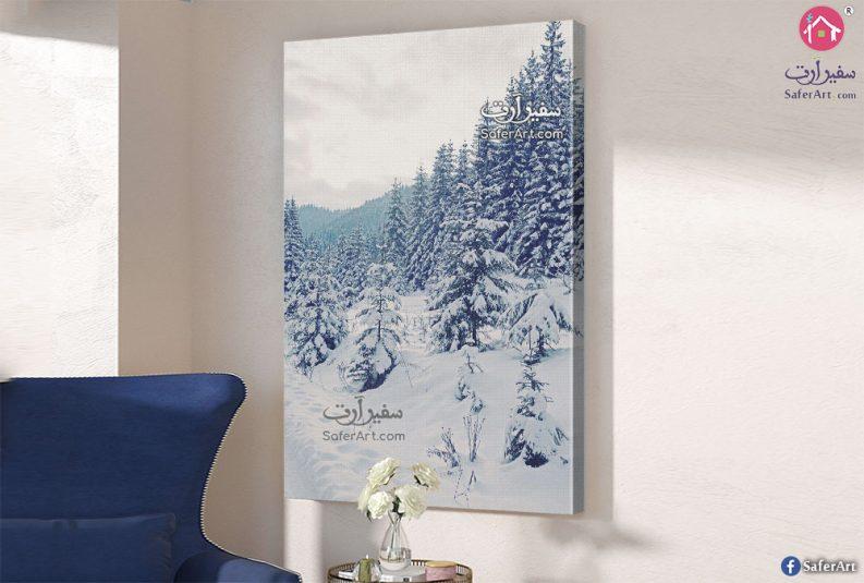 لوحات مودرن غابات الجليد