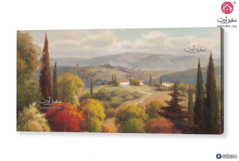 لوحات مودرن منظر طبيعي