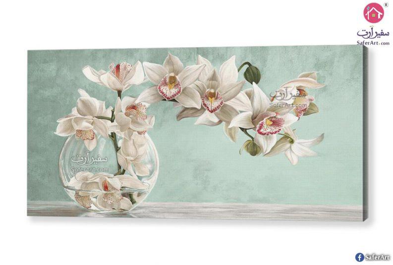 لوحات زهور الأوركيد