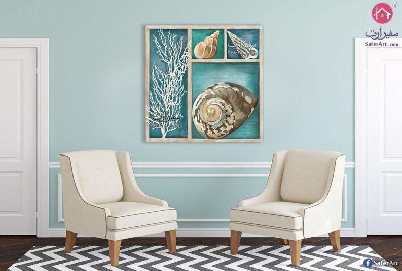 لوحات فنية كائنات بحرية