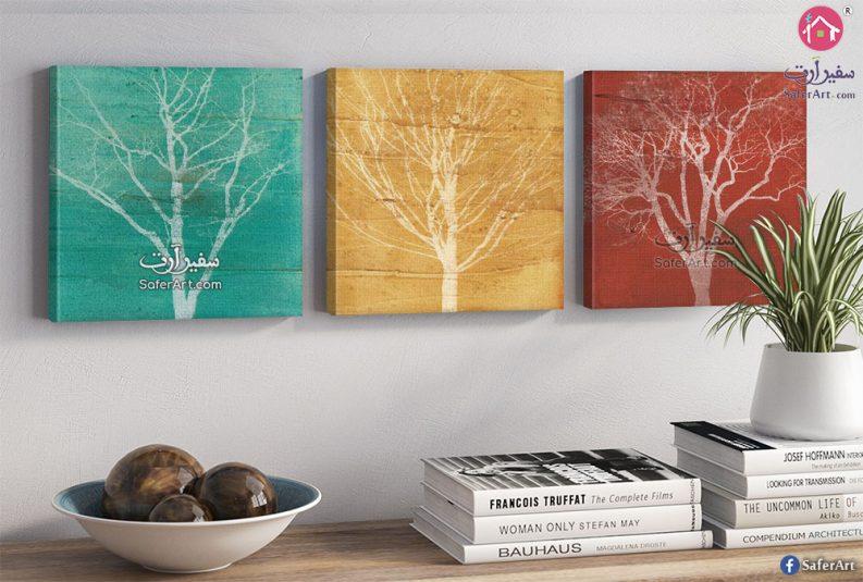 تابلوهات مودرن أشجار