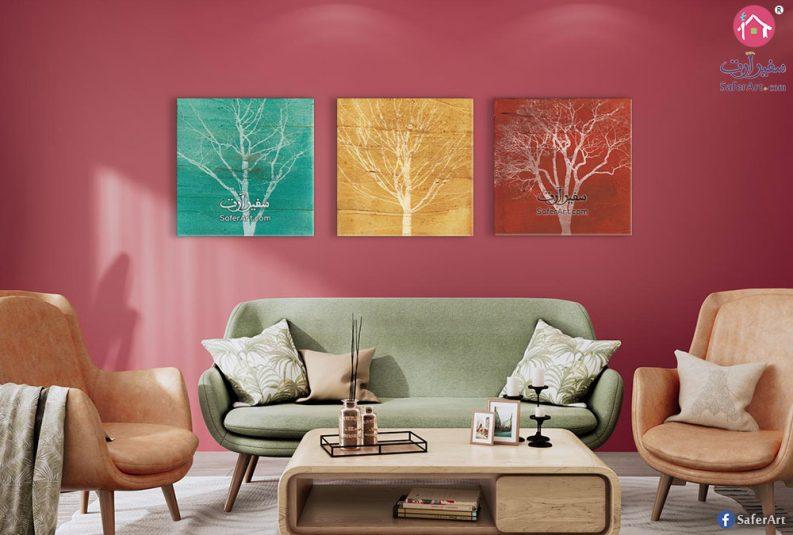 لوحات أشجار