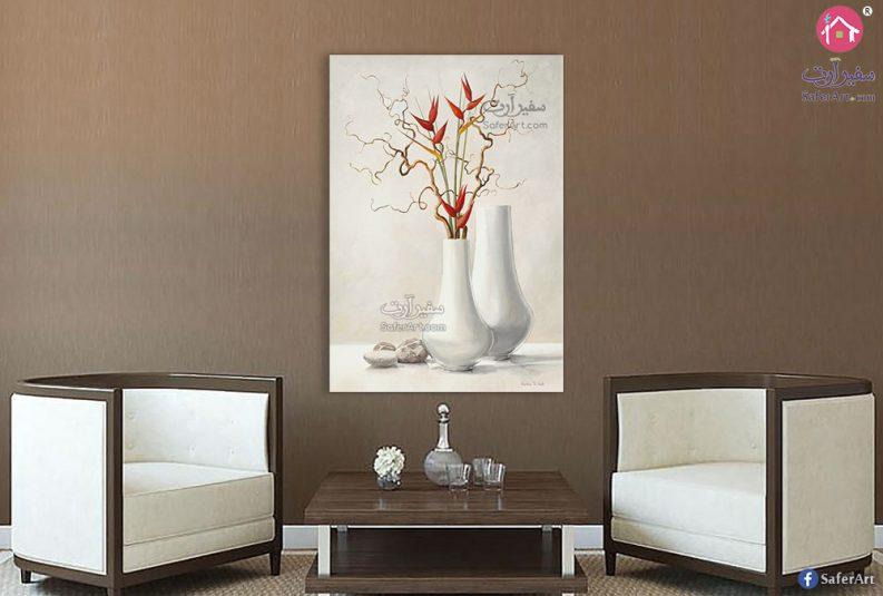 لوحات مزهريات