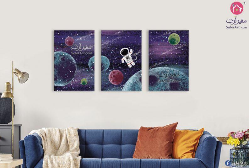 تابلوهات رائد الفضاء