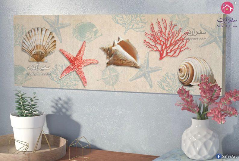لوحات كائنات بحرية