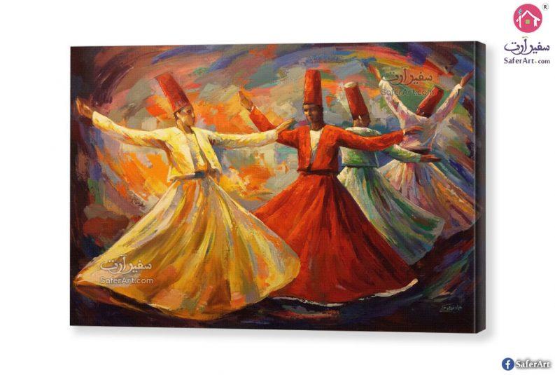 لوحات راقصي المولوية