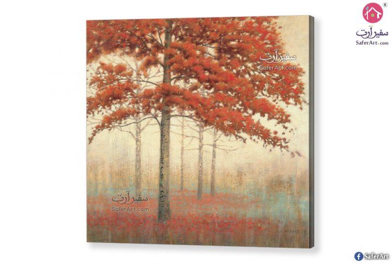 تابلوه مودرن أشجار الخريف
