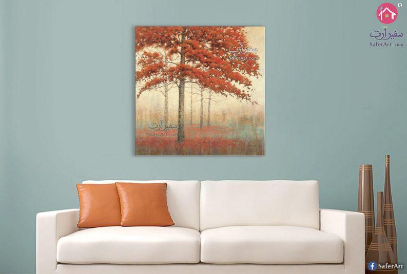 لوحات أشجار الخريف