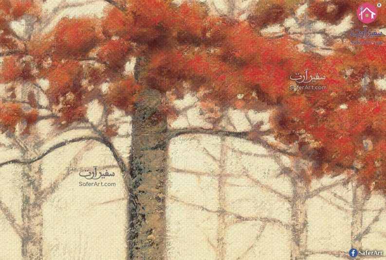 صورة لجزء من التصميم بالحجم الطبيعي عن قرب