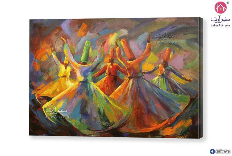 لوحات راقصين المولولية