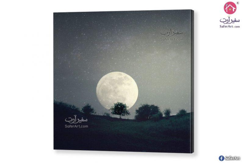 لوحة فنية ضوء القمر