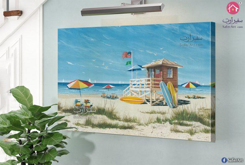 لوحات مودرن شواطئ