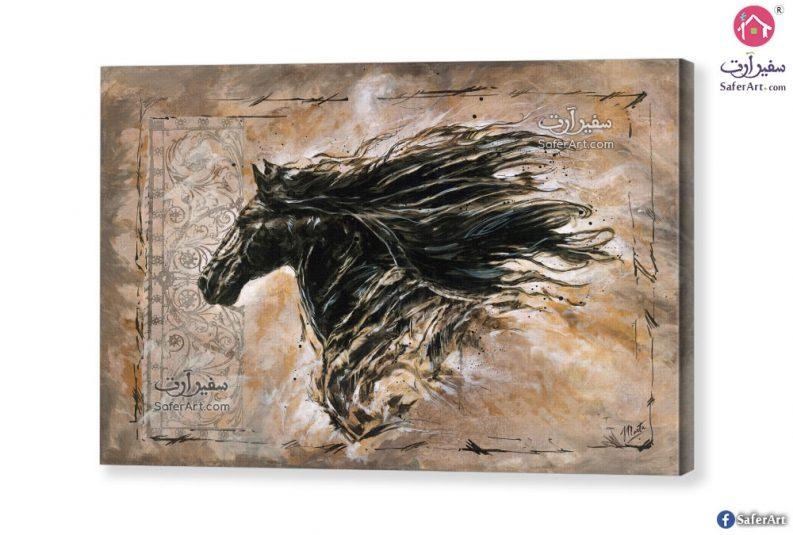 تابلوه مودرن حصان