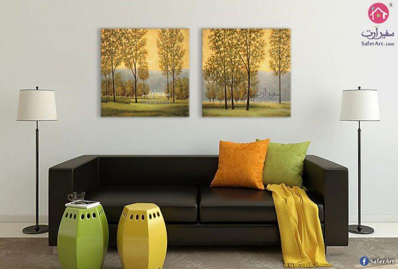 لوحات غابات وأشجار