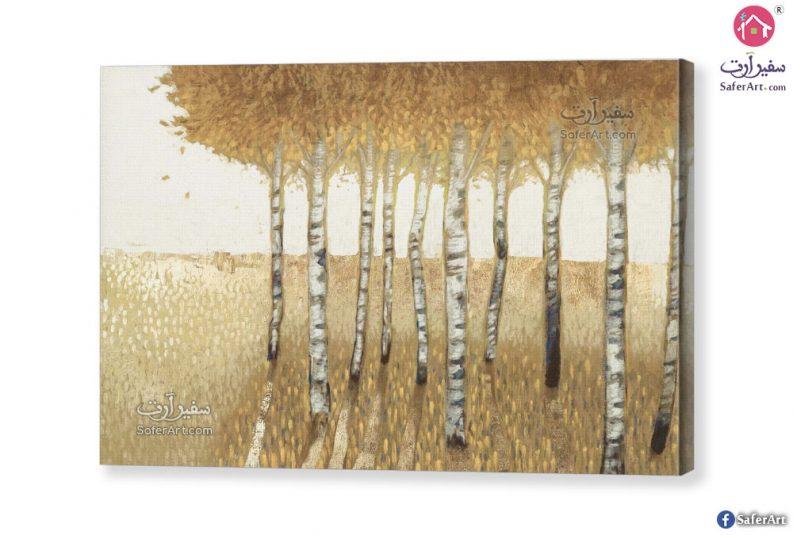 تابلوهات مودرن غابات