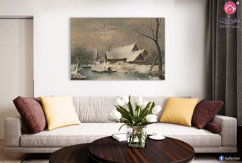 لوحات حائط الجليد