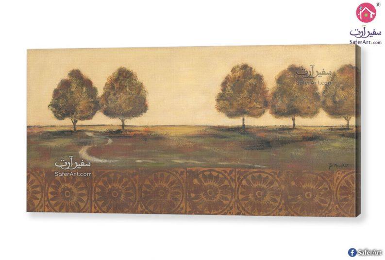 لوحات مودرن أشجار