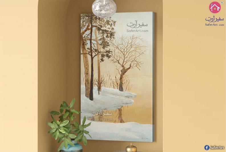 لوحات مودرن الجليد
