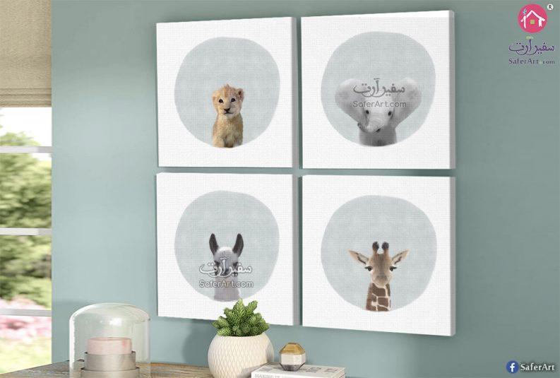 لوحات مودرن حيوانات