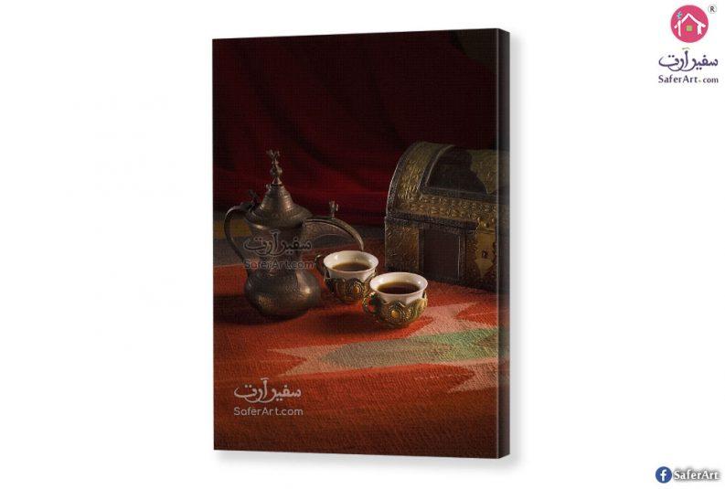 تابلوه مودرن قهوة عربي