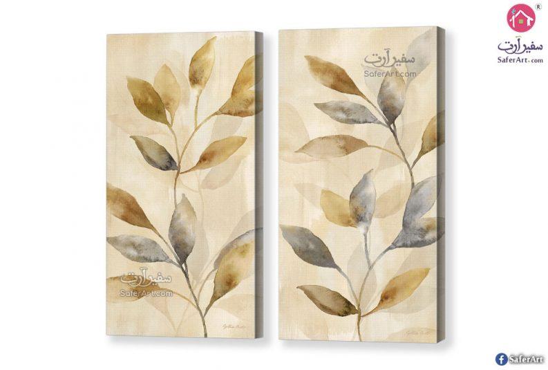 تابلوهات أوراق شجر ذهبية