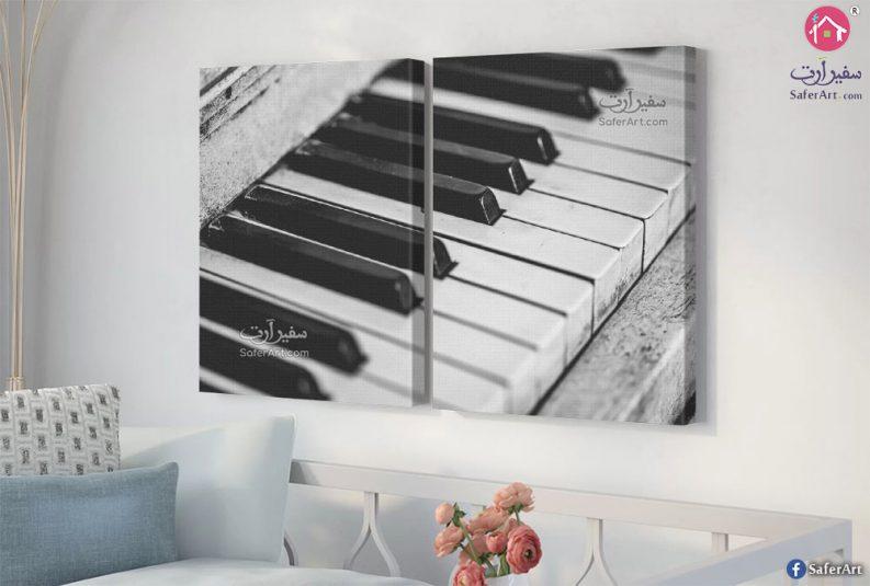 تابلوهات مودرن آلات موسيقية