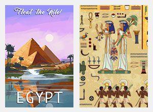 تابلوهات مودرن مصر الفرعونية